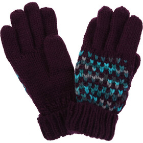 Regatta Frosty III Gloves Women, prune
